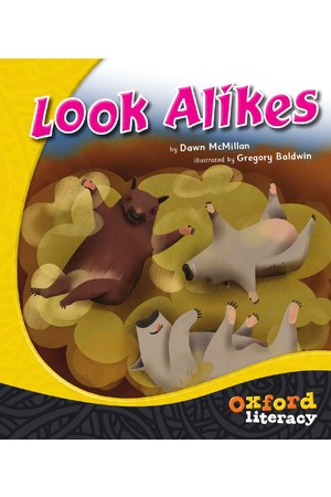 Oxford Literacy Guided Reading – Level 18 Fiction: Look Alikes (Single Book)