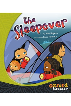 Oxford Literacy Guided Reading – Level 19 Fiction: The Sleepover (Single Book)