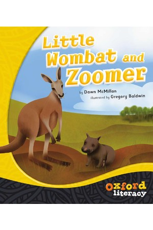 Oxford Literacy Guided Reading – Level 21 Fiction: Little Wombat and Zoomer (Single Book)