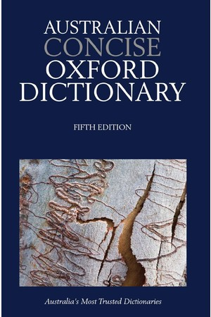 Australian Concise Oxford Dictionary - Paperback