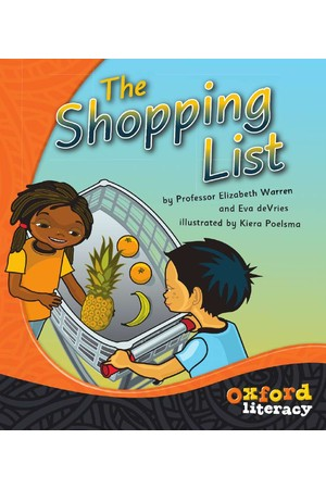 Oxford Literacy Guided Reading – Level 2 Fiction: The Shopping List (Single Book)