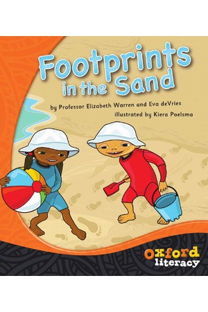 Oxford Literacy Guided Reading – Level 13 Fiction: Footprints in the Sand (Single Book)