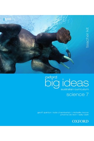 Oxford Big Ideas Science Australian Curriculum: Year 7 - Teacher Kit + obook/assess (Print & Digital)