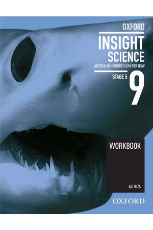 Oxford Insight Science AC for New South Wales - Year 9: Workbook (Print)