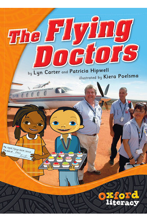 Oxford Literacy Guided Reading – Levels 24-26 Fiction & Non-Fiction: The Flying Doctors (Pack of 6)