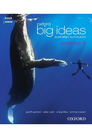 Oxford Big Ideas Science Australian Curriculum: Year 9 - Student Book + obook/assess (Print & Digital)