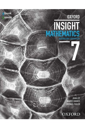 Oxford Insight Mathematics AC for NSW: Year 7 - Student Book + obook/assess (Print & Digital)
