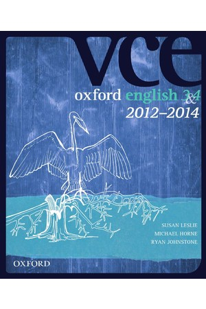Oxford VCE English 3 & 4 - Student Book + obook