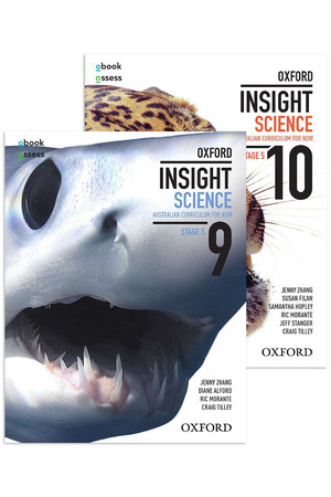 Oxford Insight Science AC for New South Wales - Stage 5 Bundle: Years 9&10 Student Book + obook/assess (Print & Digital)