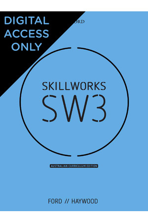 Skillworks 3 Australian Curriculum Edition - Student obook/assess (Digital Access Only)
