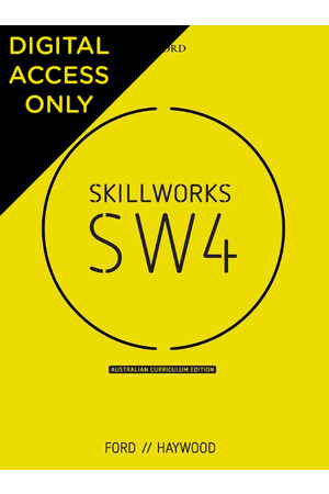 Skillworks 4 Australian Curriculum Edition - Student obook/assess (Digital Access Only)