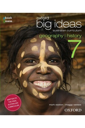Oxford Big Ideas Geography/History AC - Year 7: Student Book + obook/assess (Print & Digital)