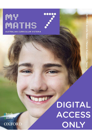 MyMaths AusVELS - Year 7: Student obook/assess (Digital Access Only)