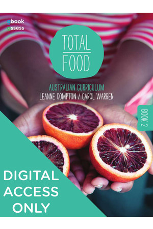Total Food 2 - Student obook/assess (Digital Access Only)