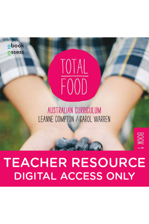 Total Food 1 - Teacher obook/assess (Digital Access Only)