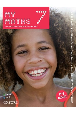 MyMaths Australian Curriculum for QLD - Year 7: Student Book + obook/assess (Print & Digital)