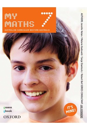 MyMaths Australian Curriculum for WA - Year 7: Student Book + obook/assess (Print & Digital)