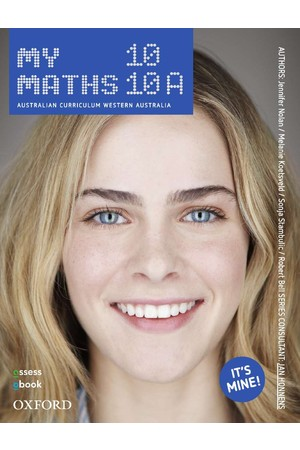 MyMaths Australian Curriculum for WA - Year 10: Student Book + obook/assess (Print & Digital)