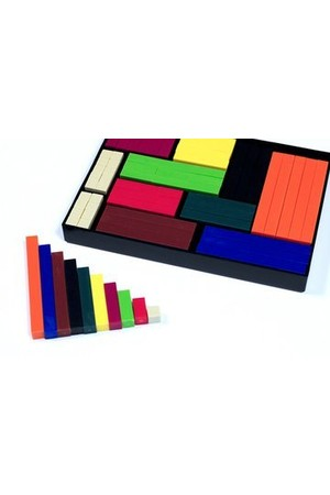Numicon Cuisenaire Rods - Small Set