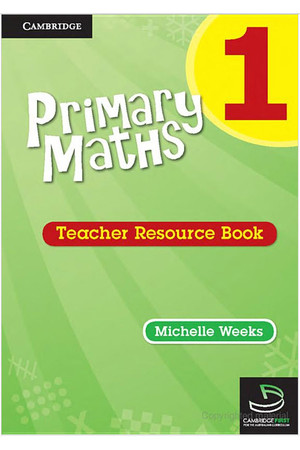 Primary Maths - Teacher Resource Books: Year 1