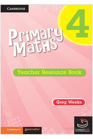Primary Maths - Teacher Resource Books: Year 4