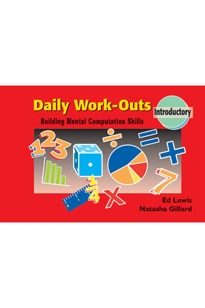 Daily Work-Outs - Building Mental Computation Skills: Introductory