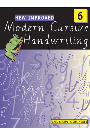 New Improved Modern Cursive Handwriting VIC - Year 6