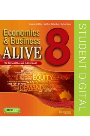 Economics & Business Alive 8 - Australian Curriculum Edition: eBookPLUS