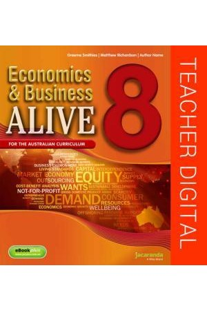 Economics & Business Alive 8 - Australian Curriculum Edition: Teacher Edition eGuidePLUS (Digital Access Only)