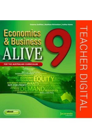 Economics & Business Alive 9 - Australian Curriculum Edition: Teacher Edition eGuidePLUS (Digital Access Only)