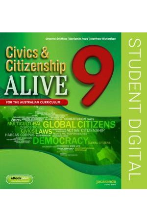 Civics & Citizenship Alive 9 - Australian Curriculum Edition: eBookPLUS (Digital Access Only)
