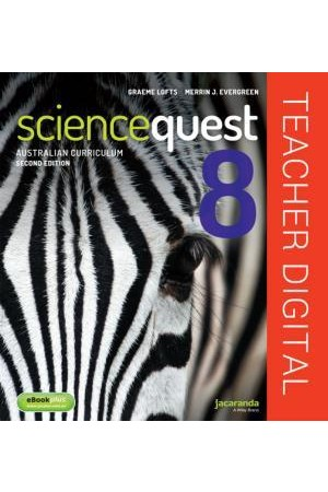 Science Quest 8 for the Australian Curriculum - Second Edition: Teacher Edition eGuidePLUS