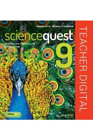 Science Quest 9 for the Australian Curriculum - Second Edition: Teacher Edition eGuidePLUS