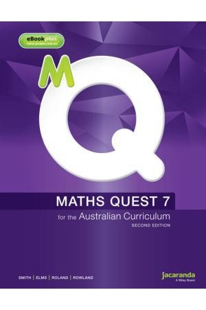 Maths Quest 7 for the Australian Curriculum - Second Edition: Print & eBookPLUS
