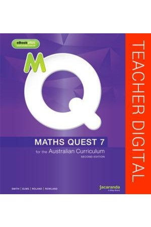 Maths Quest 7 for the Australian Curriculum - Second Edition: Teacher Edition eGuidePLUS (Digital Access Only)