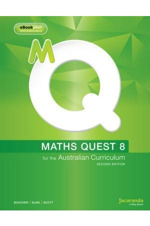 Maths Quest 8 for the Australian Curriculum - Second Edition: eBookPLUS