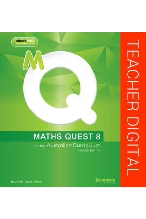 Maths Quest 8 for the Australian Curriculum 2E Teacher Edition eGuidePLUS