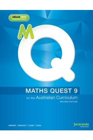 Maths Quest 9 for the Australian Curriculum - Second Edition: Print & eBookPLUS