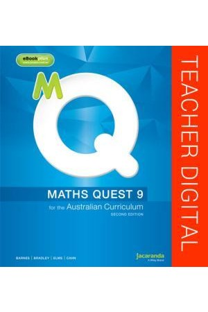 Maths Quest 9 for the Australian Curriculum - Second Edition: Teacher Edition eGuidePLUS