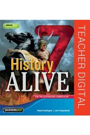 History Alive 7 for the Australian Curriculum - Teacher Edition eGuidePLUS