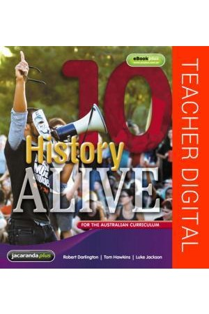 History Alive 10 for the Australian Curriculum - Teacher Edition eGuidePLUS