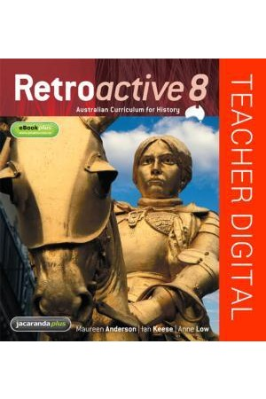 Retroactive 8 Australian Curriculum for History - Teacher Edition eGuidePLUS