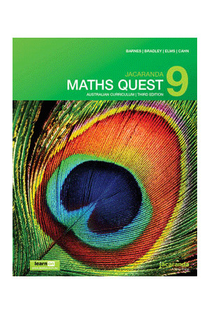 Maths Quest 9 Australian Curriculum (3rd Edition) - Student Book + learnON (Print & Digital)