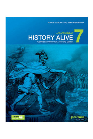 History Alive 7 Australian Curriculum (2nd Edition) - Student Book + learnON (Print & Digital)