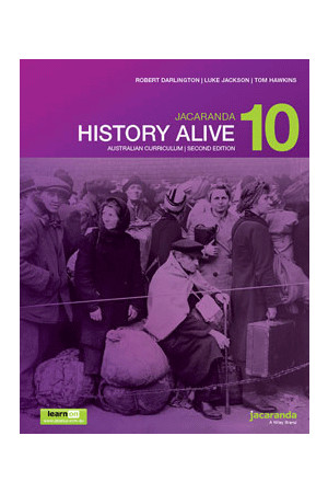 History Alive 10 Australian Curriculum (2nd Edition) - Student Book + learnON (Print & Digital)