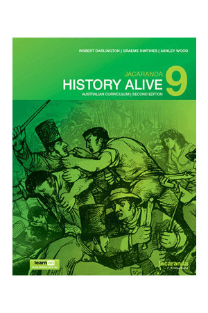 History Alive 9 Australian Curriculum (2nd Edition) - Student Book + learnON (Print & Digital)