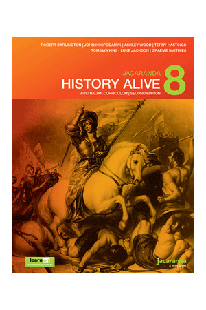 History Alive 8 Australian Curriculum (2nd Edition) - Student Book + learnON (Print & Digital)