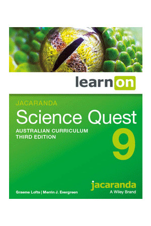 Science Quest 9 Australian Curriculum (3rd Edition) - Student Book learnON (Digital Access Only)