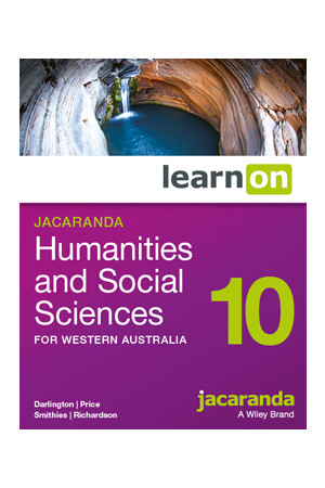 Humanities and Social Sciences 10 for WA - Student learnON (Digital Access Only)