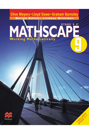 Mathscape 9 - Student Book + CD